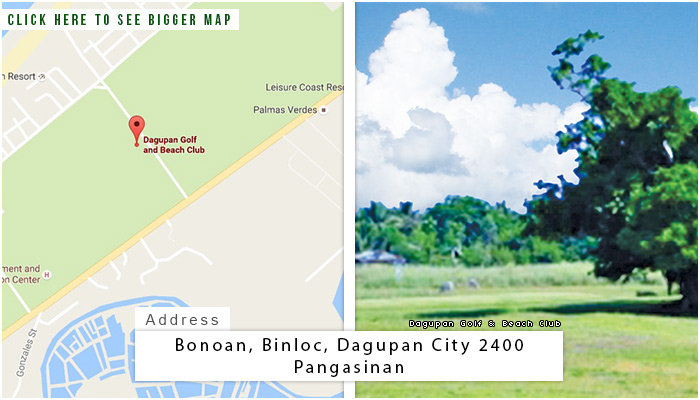 Dagupan Location, Map and Address