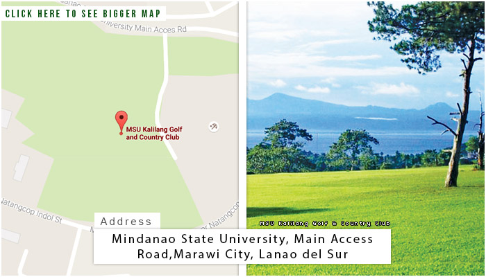 MSU Kalilang Location, Map and Address