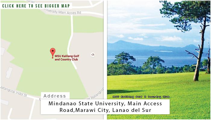 MSU Kalilang Location, Map and Address