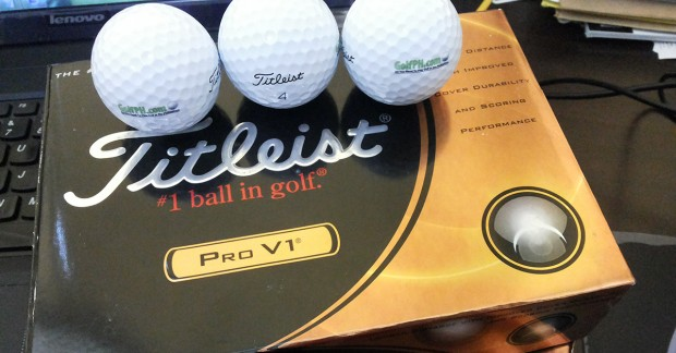 Free Box of Titleist ProV1s - Enter our Monthly Raffle