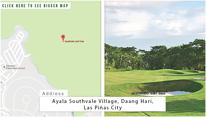 Southlinks Golf Club Location, Map and Address