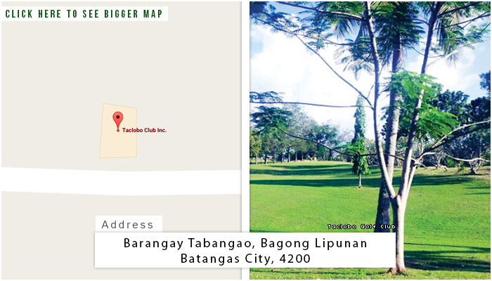 Taclobo Location, Map and Address