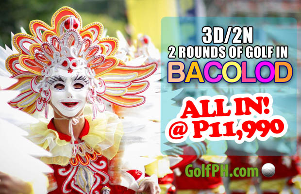 3D/2N Bacolod Golf Trip Package