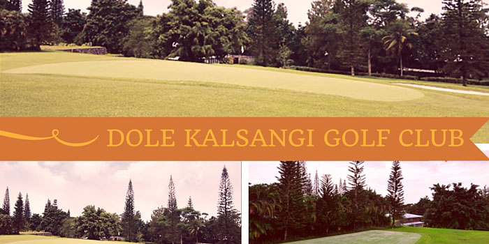 Dole-Kalsangi Golf Club - Discounts, Reviews and Club Info