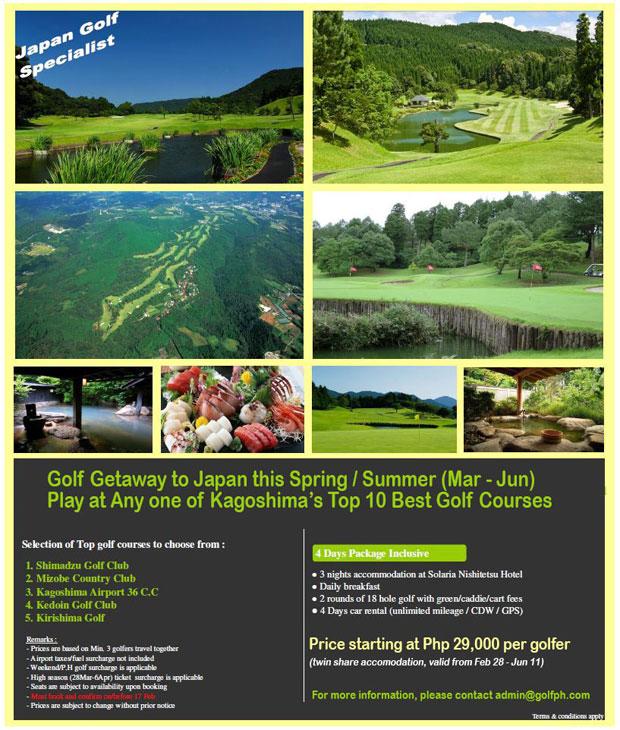 Play Golf in Japan - 4d3n Package at Kagoshima