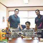 Q&A with David Lee – CEO of KC Filipinas