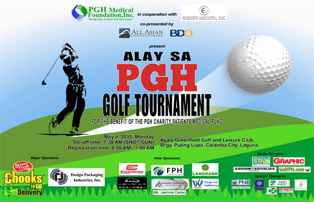 Join the Alay sa PGH Golf Tournament