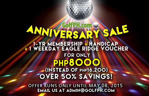 GolfPH Anniversary Sale