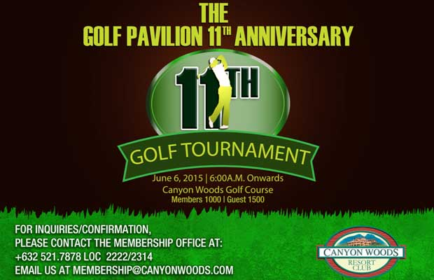 Golf Pavilion 11th Anniversary Golf Tournament