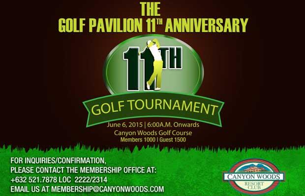 Golf Pavilion 11th Anniversary Golf Tournament