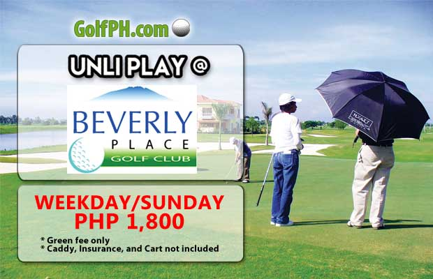 UNLI PLAY at Beverly Place Golf