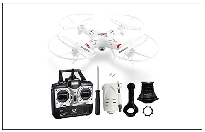 Wi-Fi Camera Quadcopter Drone (3,599 PHP)