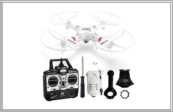 Wi-Fi Camera Quadcopter Drone (3,599 PHP)