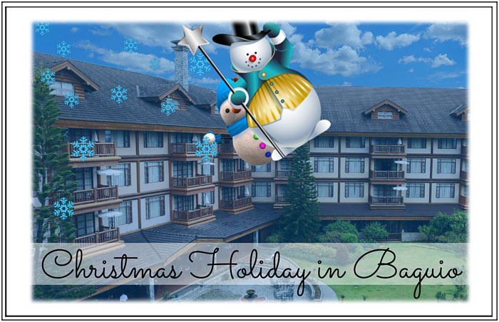Stay and Play Christmas Vacation in Baguio for 4