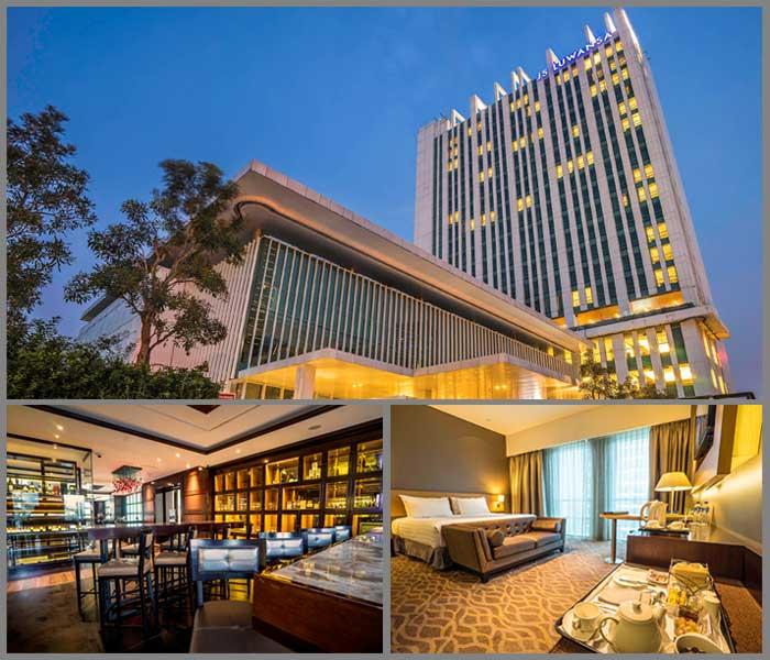 The Luxurious JS Luwansa Hotel