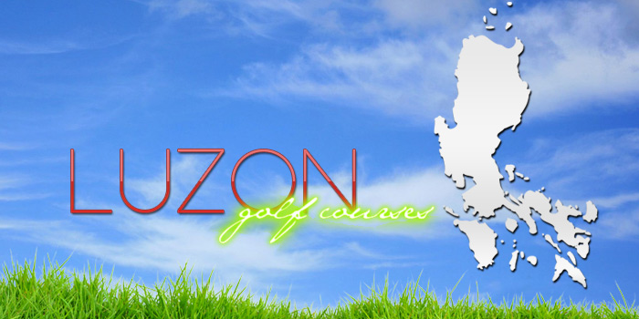 Complete list of Luzon golf courses