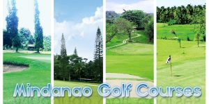 Complete list of Mindanao Golf Courses