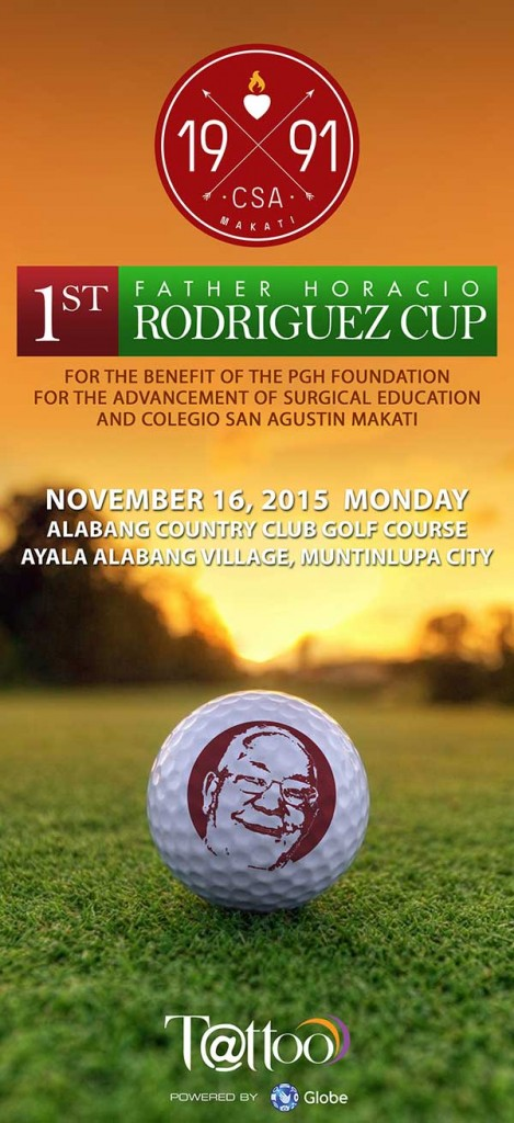 Join the 1st Fr Horacio Rodriguez Cup