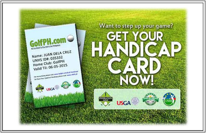 Certified UNHS Golf Handicap (37% off)