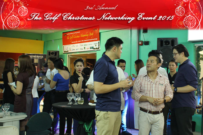 The Golf Christmas Networking Party 2015
