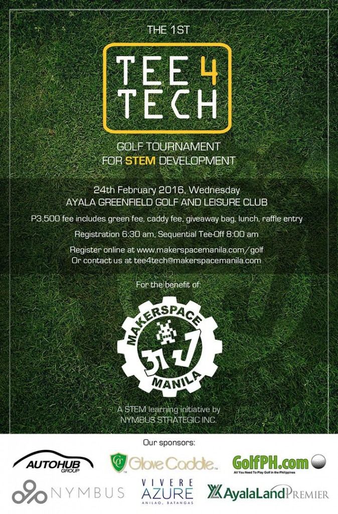 The 1st Tee 4 Tech Golf Tournament - Feb 24 at Ayala Greenfield