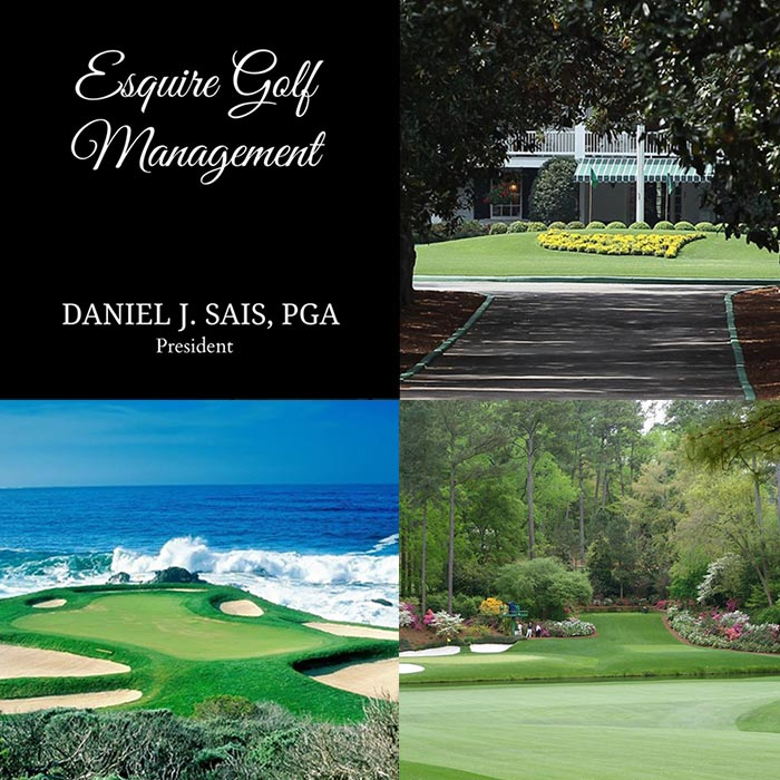 Esquire Golf's Holiday Christmas Promo