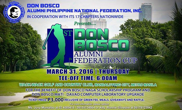 1st Don Bosco Alumni Federation Cup