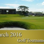 March 2016 Golf Tournaments