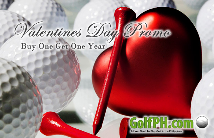 Valentines Day Promo – Buy One Get One Year