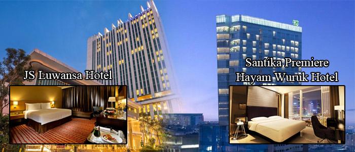 JS Luwansa Hotel and Santika Premiere Hayam Wuruk Hotel
