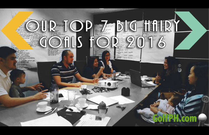 Our Top 7 Big Hairy Goals for 2016