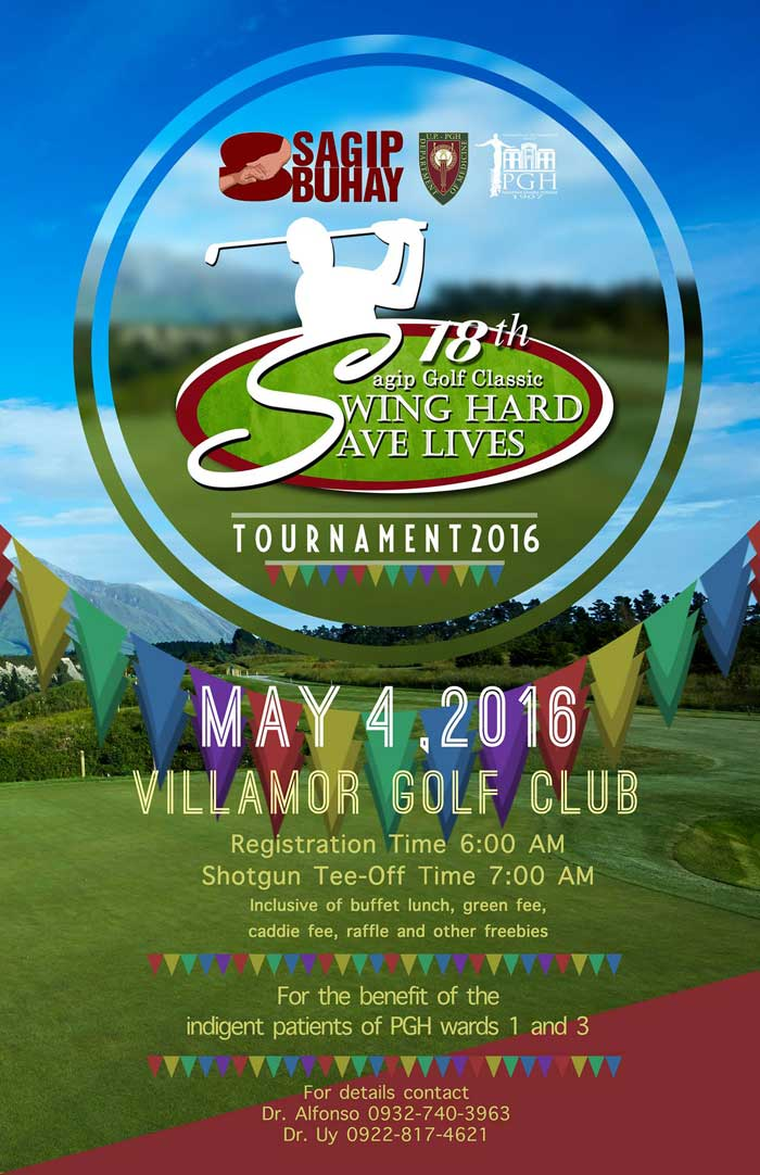 Swing Hard and Save Lives at the 18th Sagip Buhay Golf Classic
