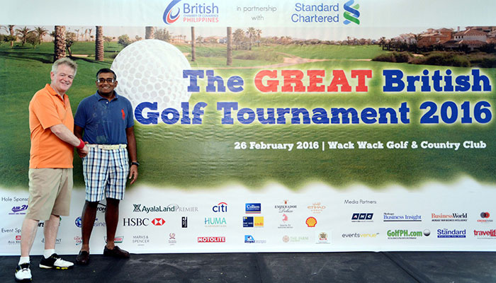 Another Smashing Event at The GREAT British Golf Tournament