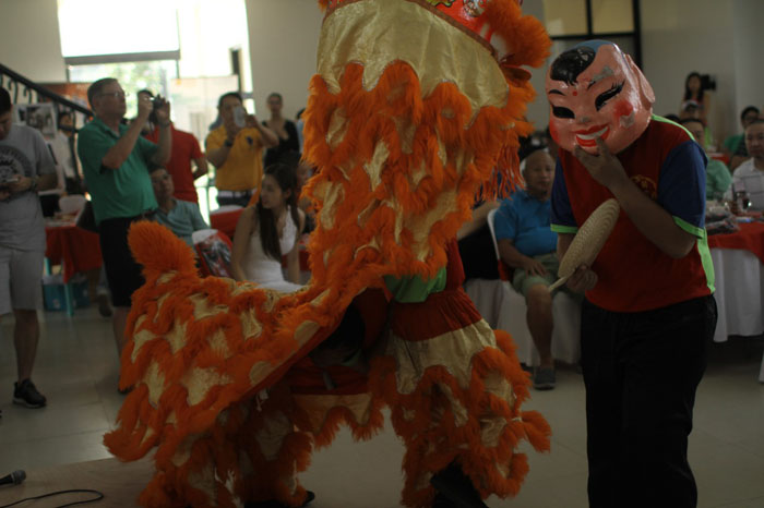 Dragon Presentation at Anvil Cup