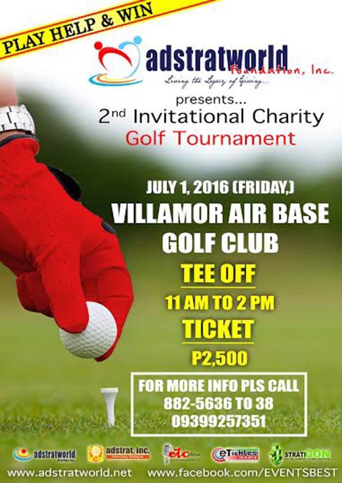 Adstratworld Founadtion, Inc. 2nd Invitational Charity Golf Tournament