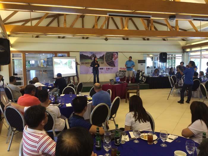 Councilor Daisy G. Reyes' 3rd Golf Cup Program