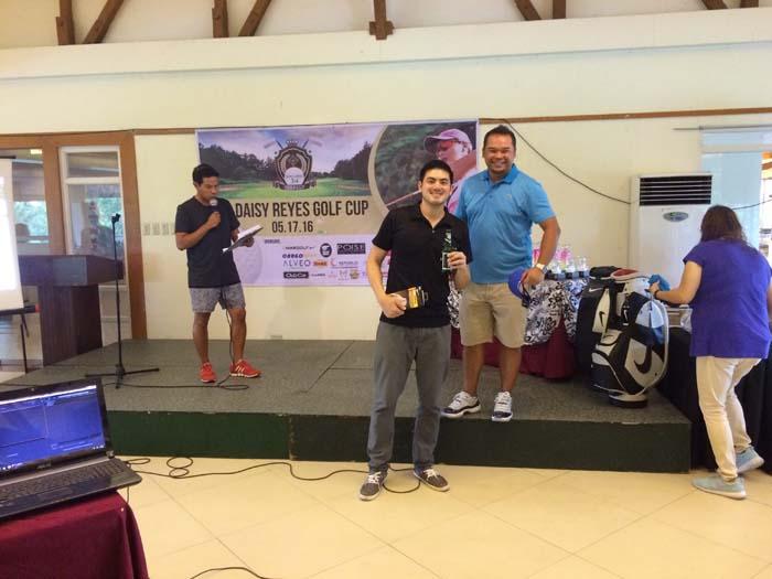 Councilor Daisy G. Reyes' 3rd Golf Cup Winner