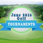 June 2016 Golf Tournaments