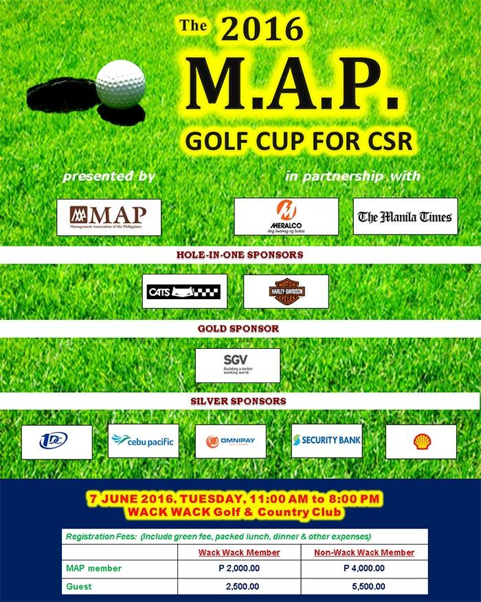 M.A.P. Golf Cup Flyer