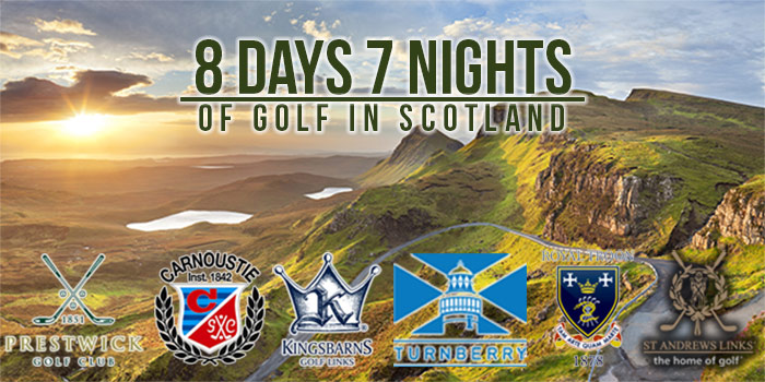Book Your Dream Golf Vacation to St. Andrews, Scotland