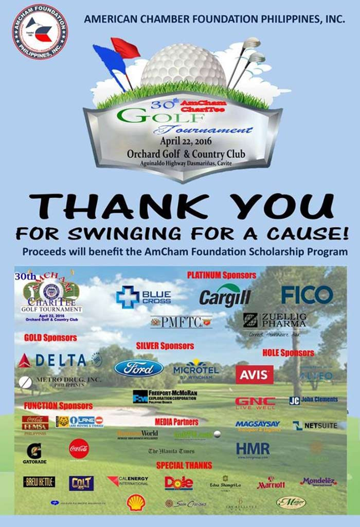 Special thanks to all of the sponsors of this event!
