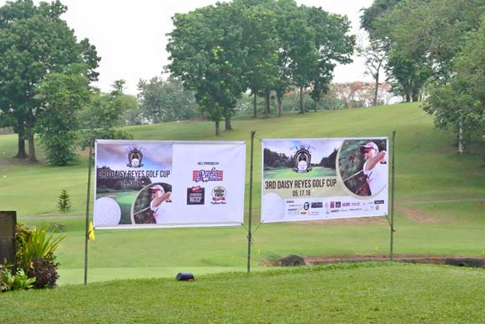 Councilor Daisy G. Reyes' 3rd Golf Cup Banner