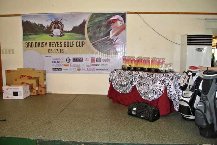 Councilor Daisy G. Reyes' 3rd Golf Cup Raffles