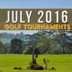 July 2016 Golf Tournaments