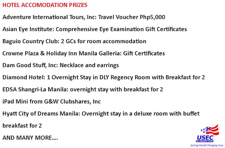 USEC Prizes