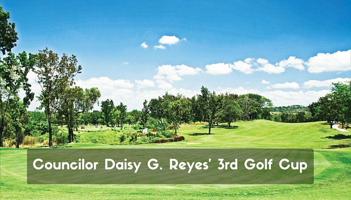 Councilor Daisy G. Reyes' 3rd Golf Cup