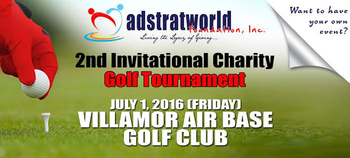 AFI's 2nd Charity Golf Tournament Banner