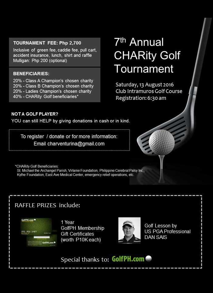 7th CHARity Golf Tournament
