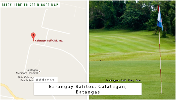 Calatagan Golf Club Location, Map and Address
