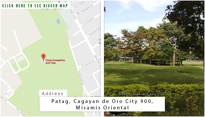 Camp Evangelista Golf Club Location, Map and Address